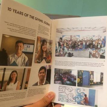 10 years of the Giving Journal