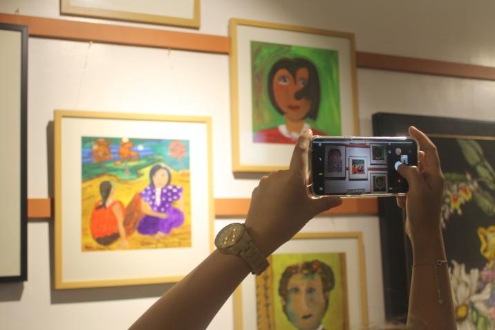 Some of the Art Work at Mano at Makina