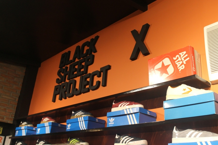 Hard to find shoes at Black Sheep Project