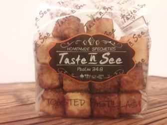 Taste N See - Toasted Pastillas