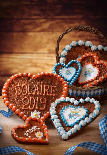 Oktoberfest Gingerbread Hearts 2