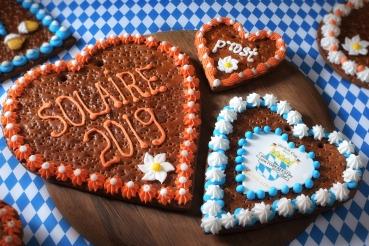 Oktoberfest Gingerbread Hearts 3